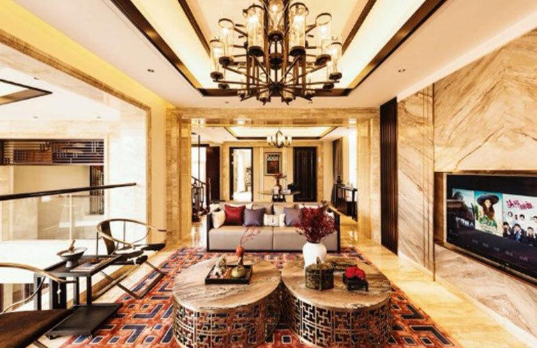 国玺二十五院 客厅