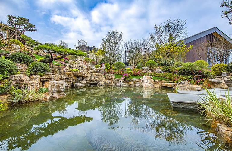 绿地滇池国际健康城实景图