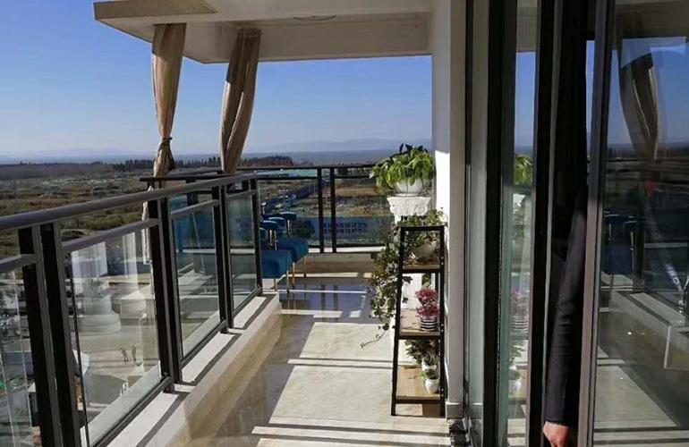 蓝光花田国际 样板间:阳台