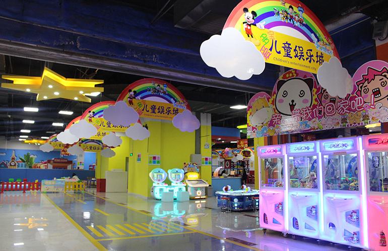 蓝光花田国际 周边配套:儿童娱乐城
