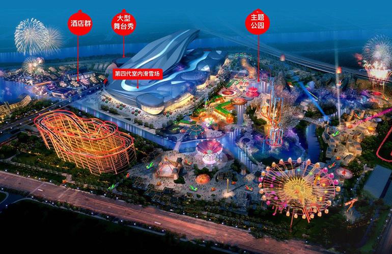 融创万达文旅城 规划图