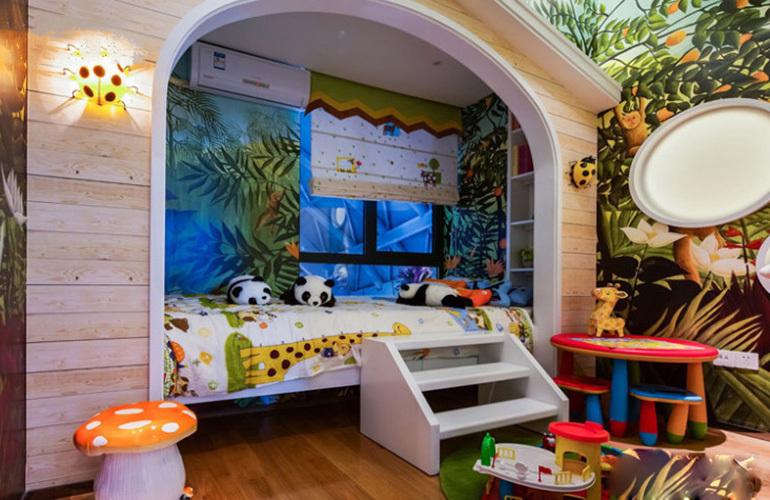 融创万达文旅城 样板间:儿童房