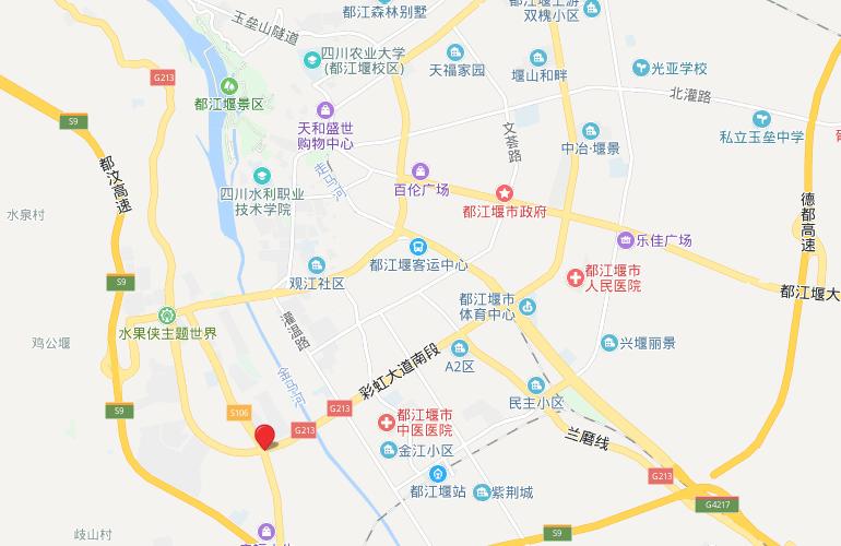 融创万达文旅城 区位图