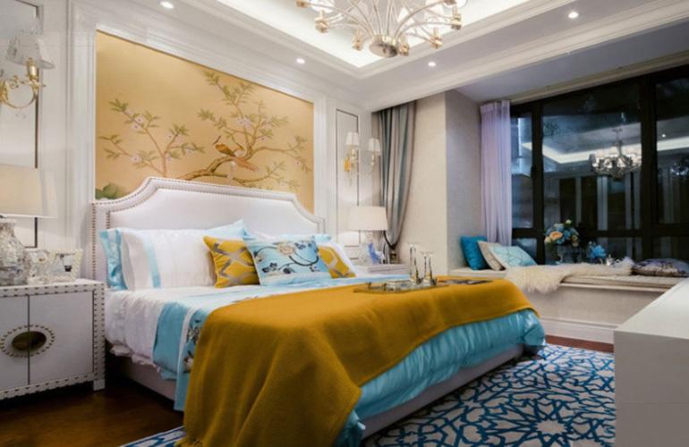 融创万达文旅城 样板间:卧室