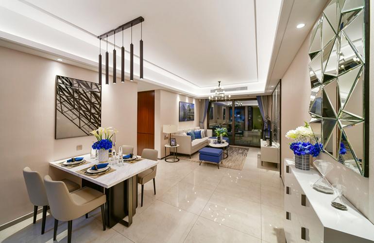 样板间:餐厅、客厅