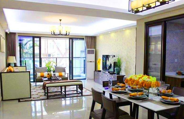 五洲家园样板间:客厅