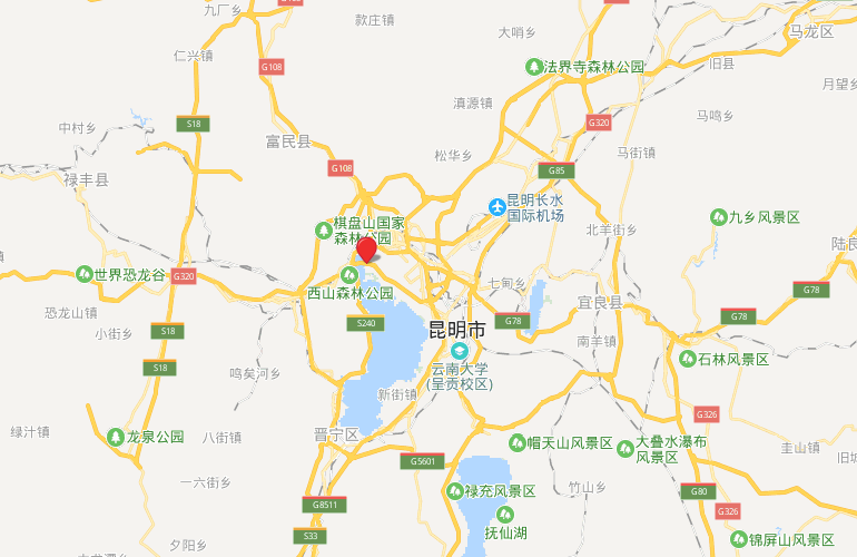 华夏天璟湾 区位图
