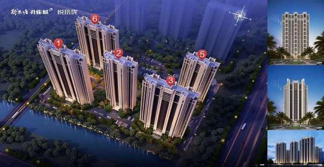 新西塘孔雀城·翰萃悦府项目在售,周边交通便利,均价17000元/㎡