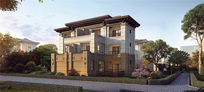 中海丽春湖墅在售,均价5.6万/㎡,双首层设计, 4层独立花园!!
