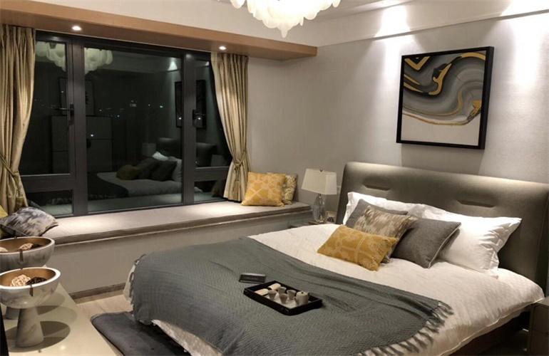 三亚蘭园 卧室