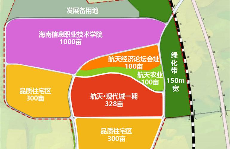 航天现代城 规划图