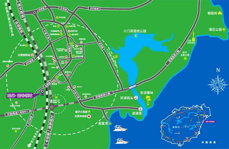航天现代城 区位图