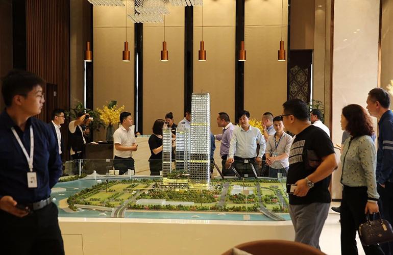 中大金融中心 售楼处实景图