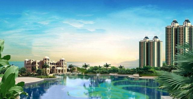 澄迈恒大御景湾在售建筑面积约50-145㎡美宅,总价98万/套
