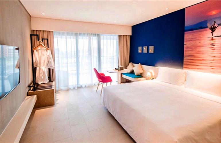 富力湾 卧室
