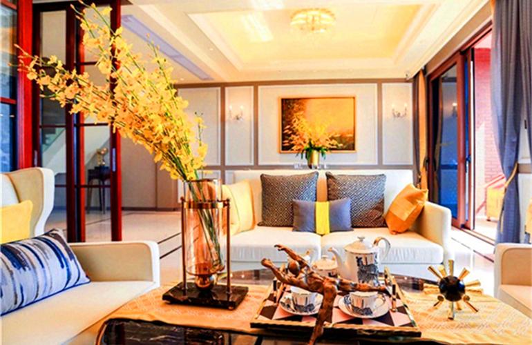 碧桂园海棠盛世 客厅