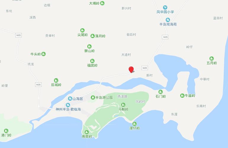 恒大双海湾 区位图