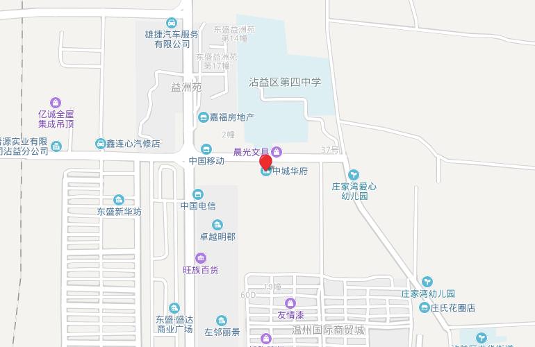 中城华府 区位图