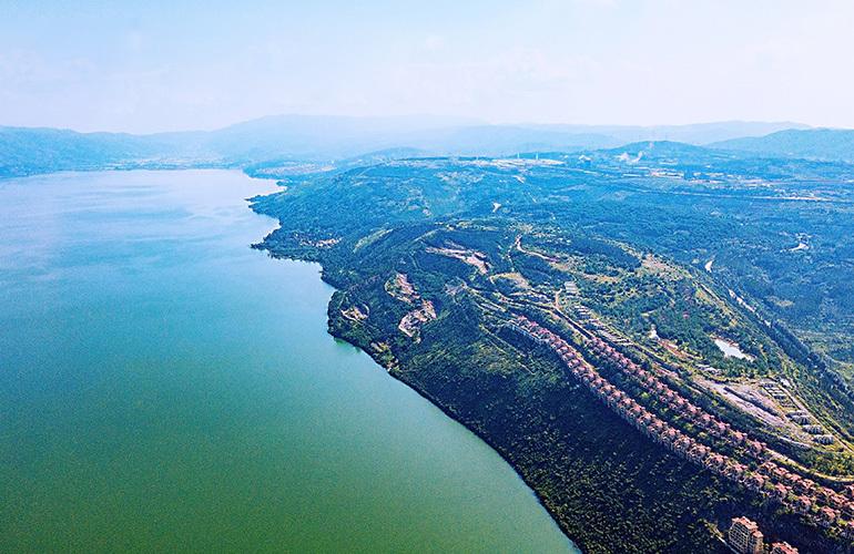 昆明富力湾 高空实景图