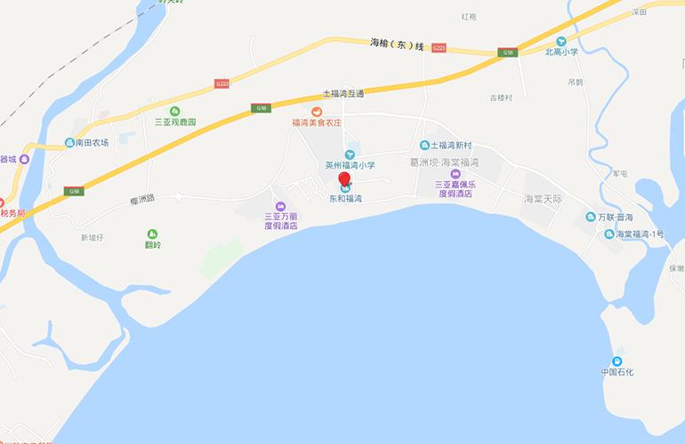 东和福湾 区位图
