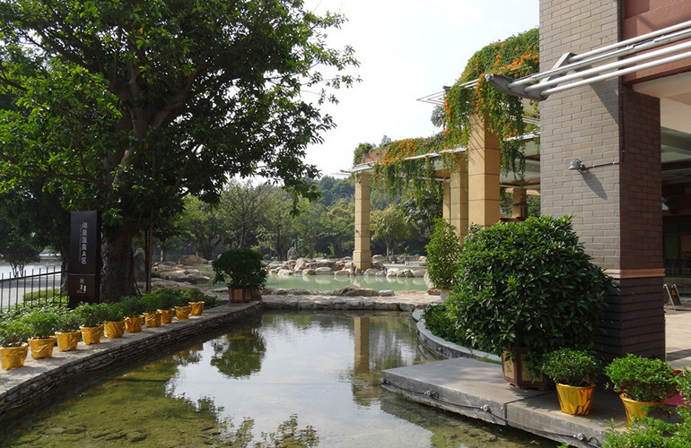 汉华天马山国际温泉度假区 云南弥勒湖泉生态园