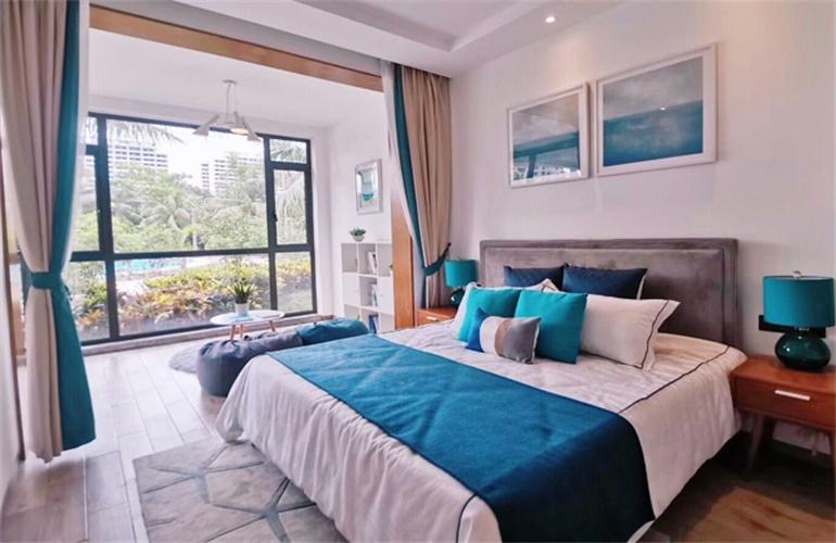 中信国安海岸样板间:卧室