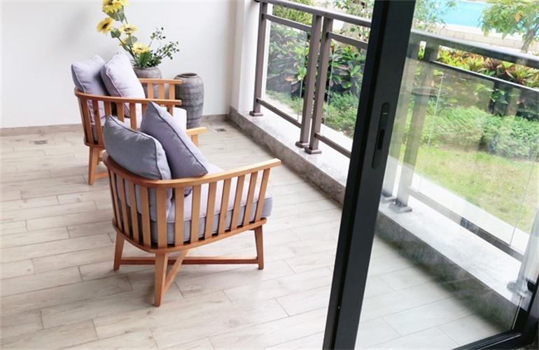 中信国安海岸 样板间:阳台