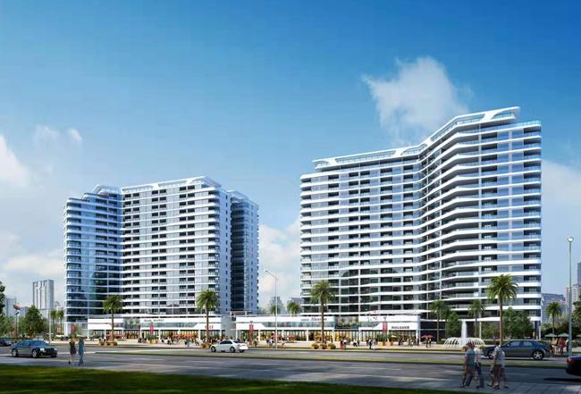 澄迈中信国安海岸项目推出特惠房源,总价102万/套