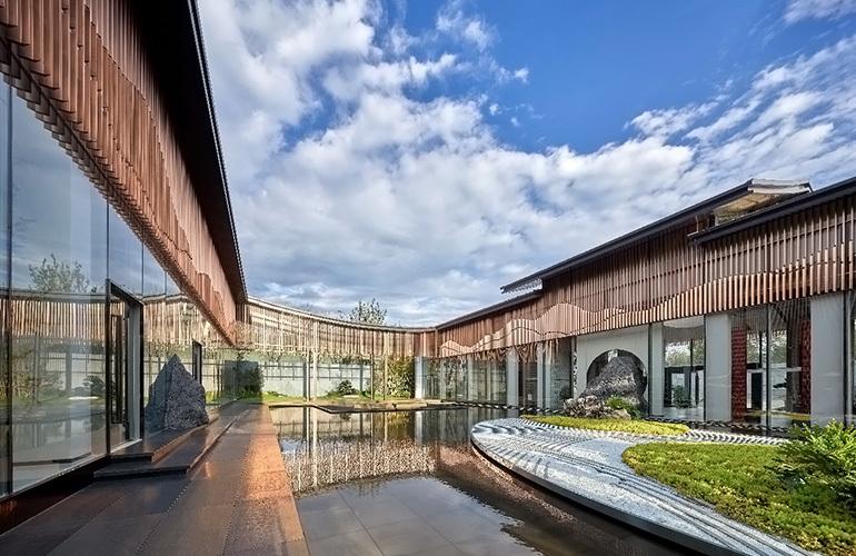 汉华天马山国际温泉度假区实景图