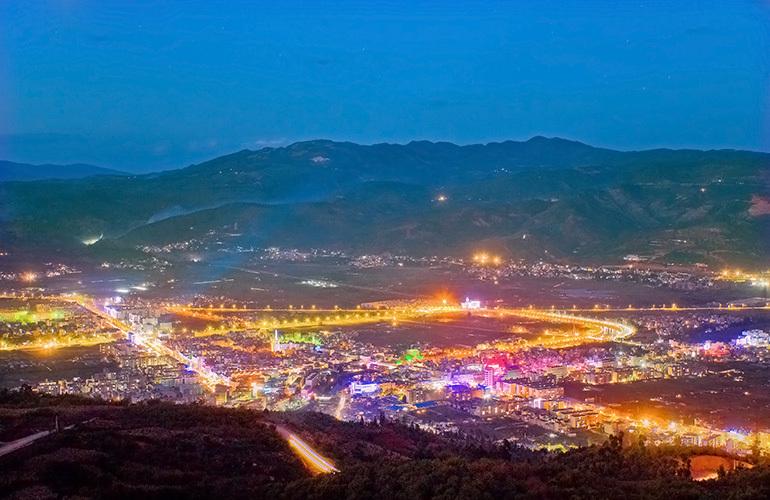 汉华天马山国际温泉度假区 富民新城