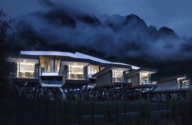 汉华天马山国际温泉度假区 效果图