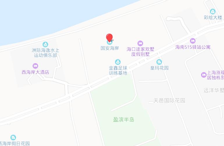 中信国安海岸位置图