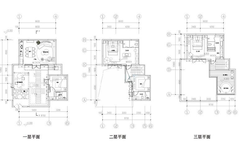汉华天马山国际温泉度假区 合院卧云户型 2室2厅2卫1厨 145㎡