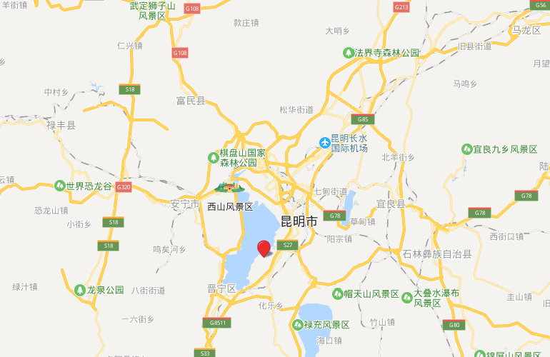 新城蓝光碧桂园古滇水云城 区位图