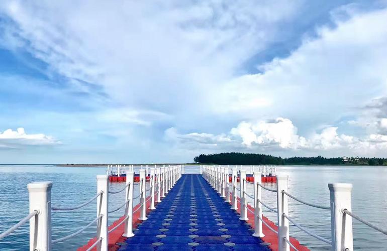 海上长廊实景图