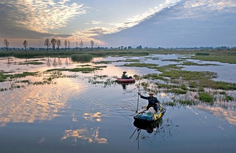 恒大养生谷 天然湿地