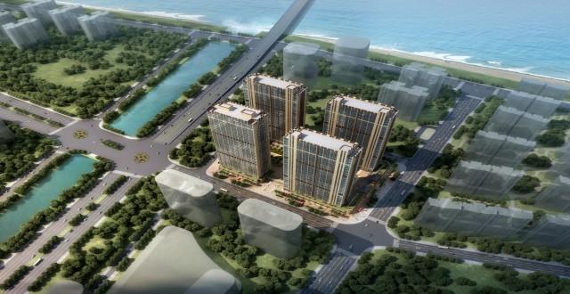 广州南沙珠江湾目前在售,均价仅14900元/㎡。