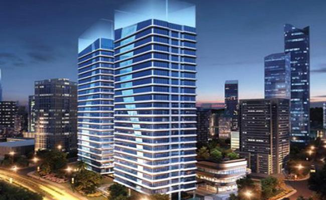 珠海碧桂园臻湾国际均价23500元/㎡,建面40㎡-67㎡商务办公空间在售