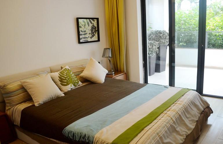 長島藍灣 樣板間:臥室