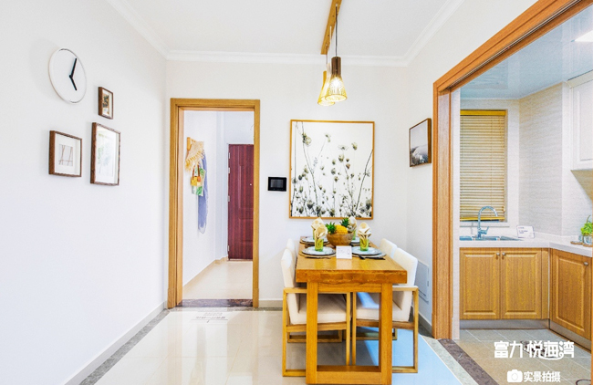 富力悦海湾 富力悦海湾公寓样板间:厨房+餐厅