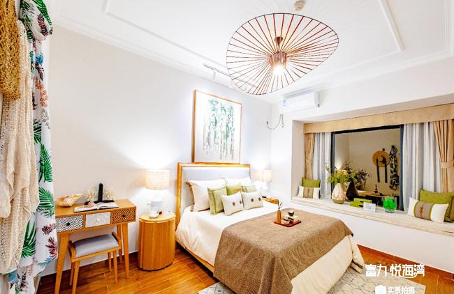 富力悦海湾 富力悦海湾公寓样板间:卧室