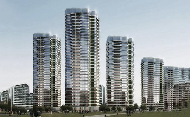 珠海龙光玖龙玺建面69㎡-105㎡的2居-3居在售,均价48000元/㎡