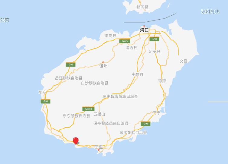 保利浅海 区位图
