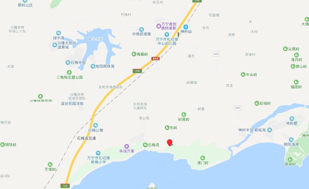 金泰南燕湾 区位图