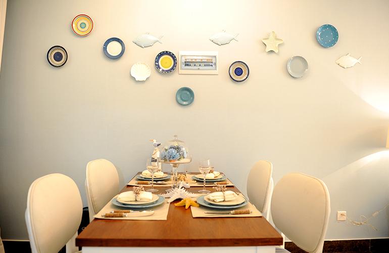 長島藍灣 樣板間:餐廳