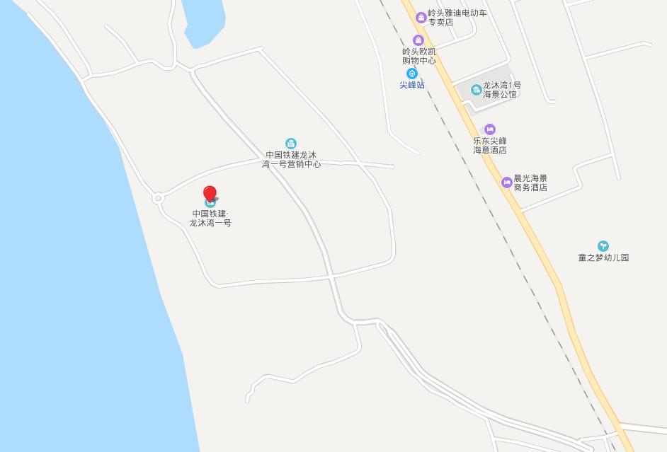 中国铁建·龙沐湾一号 区位图