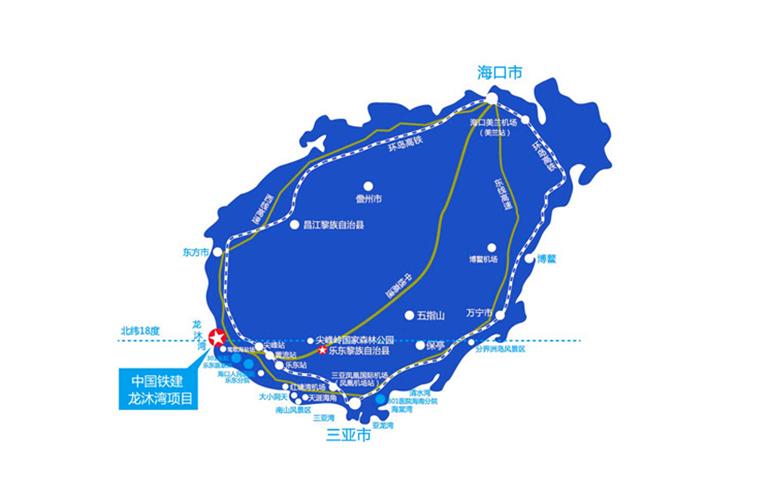 中国铁建·龙沐湾一号区位图
