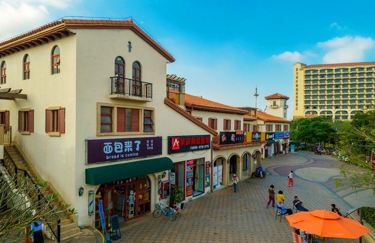 富力红树湾 商业街