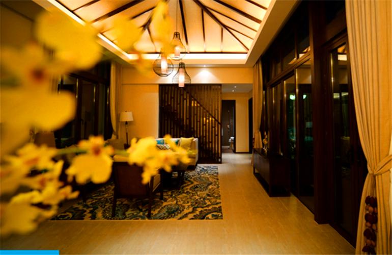 国家海岸保利海棠湾 客厅