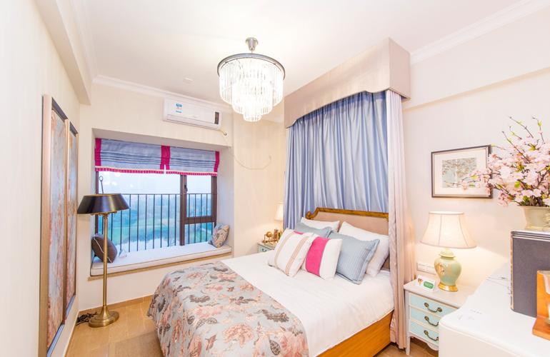 富力红树湾 卧室